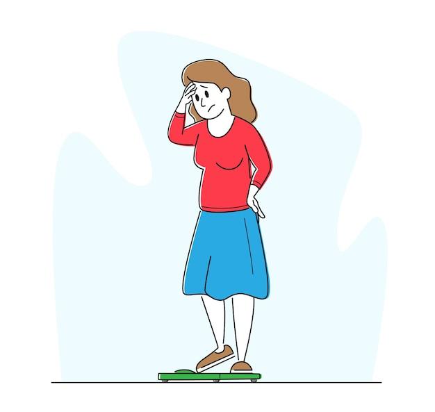 Afwijzing van het lichaam, ontevredenheid concept