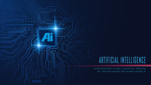 Ai-chipset op printplaat