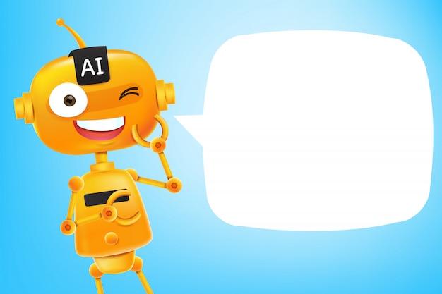 Ai robot cartoon