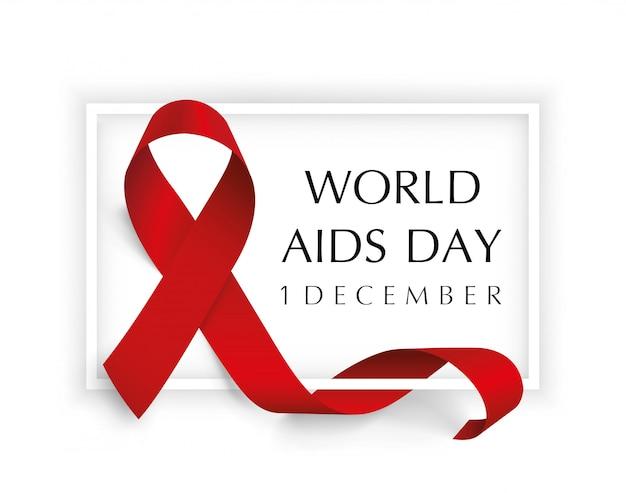 Aids awareness world aids day concept