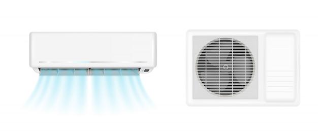 Airconditioning met koude wind
