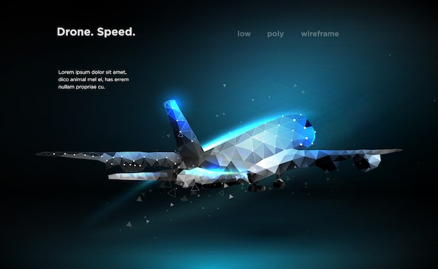 Airliner aircraft speed