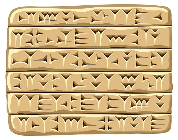 Akkadisch spijkerschrift assyrisch en sumerisch schrift oud schriftalfabet babylon