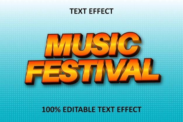 Akoestisch effect bewerkbaar teksteffect oranje blauw