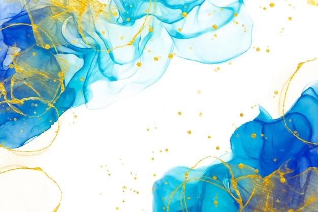 Alcohol inkt elegante aquarel achtergrond