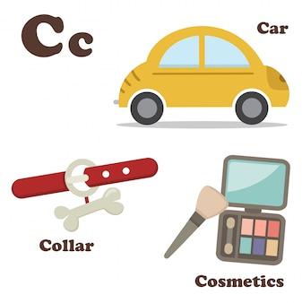 Alfabet c letter