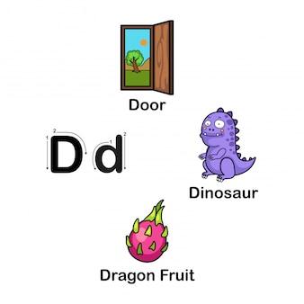 Alfabet letter d