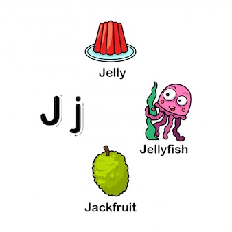 Alfabet letter j