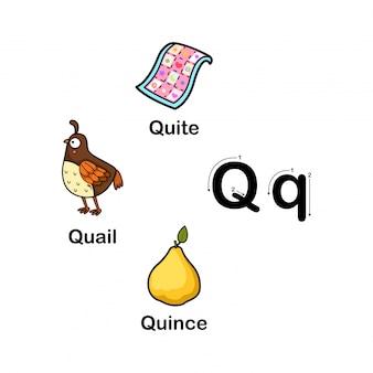 Alfabet letter q