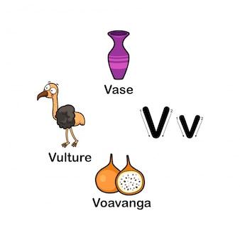 Alfabet letter v