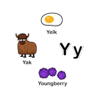 Alfabet letter y