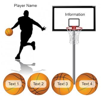 Algemeen - basketbal en bal matching