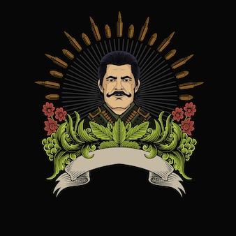 Algemeen leger vintage logo