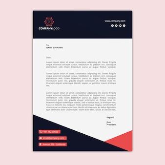 Algemeen zakelijk briefpapier