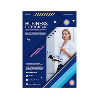 Algemene zakelijke flyer-sjabloon