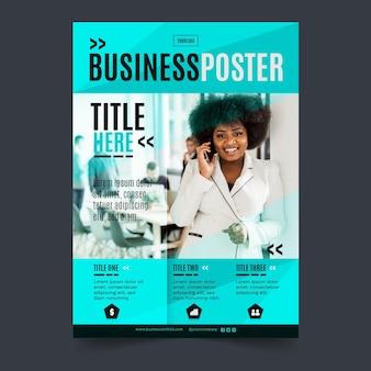 Algemene zakelijke poster