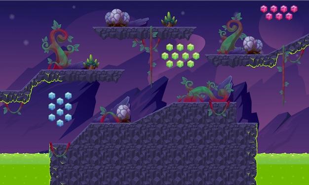 Alien game tileset