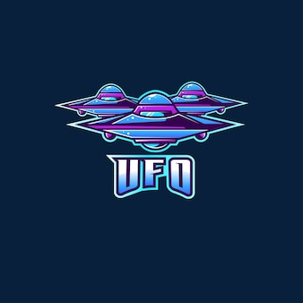 Alien ufo fiction logo nieuw