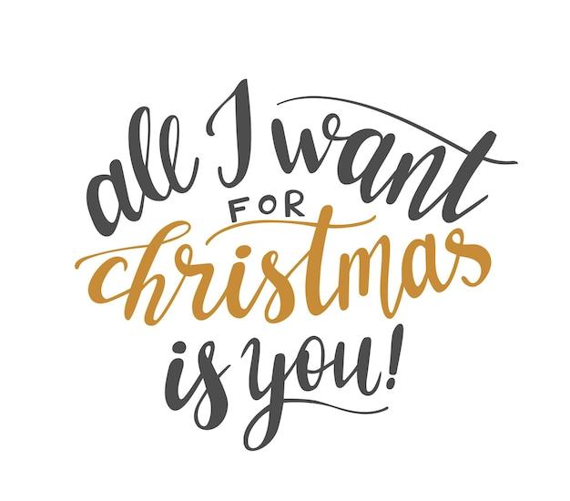 Alles wat ik wil voor kerstmis is je handschrift