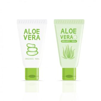 Aloe vera tube