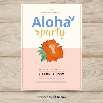 Aloha feestbanner