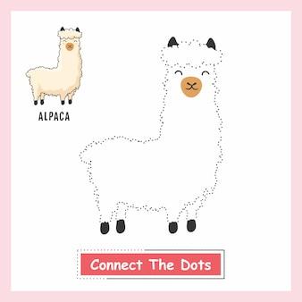 Alpaca connect the dots llama