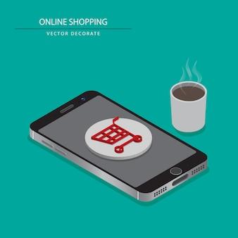 Als u producten of winkelen wilt kopen, kunt u meteen zitten en thee eten met winkelen