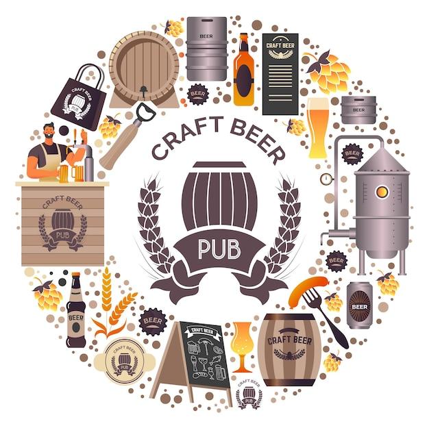 Ambachtelijke bierproductie en verkoop van alcoholische dranken