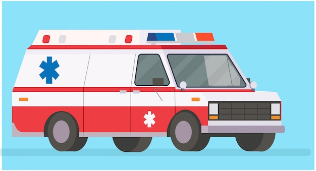 Ambulance illustratie