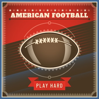 American football achtergrond