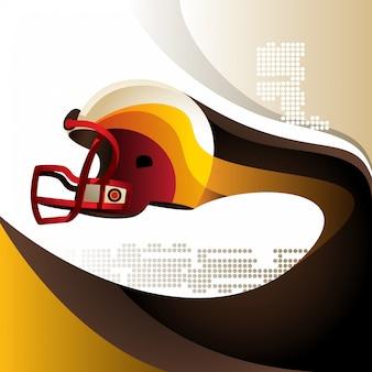 American football achtergrond