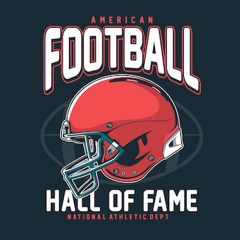 American football t-shirt afbeelding