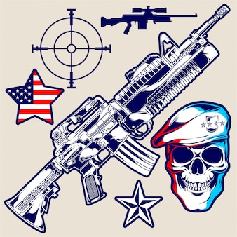 Amerika leger wannabe