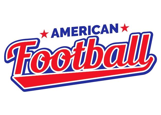 Amerikaans voetbal in retrostijl