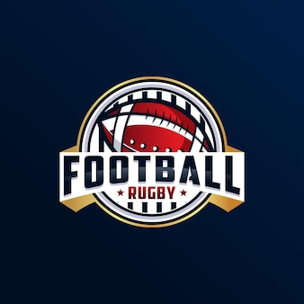 Amerikaans voetbal rugby achtergrond