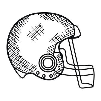 Amerikaans voetballiga pictogram vector illustratie ontwerp