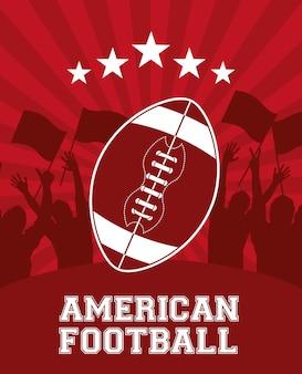 Amerikaans voetbalontwerp