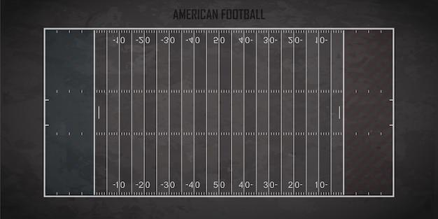 Amerikaans voetbalveld