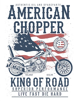 Amerikaanse chopper