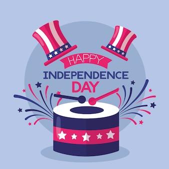 Amerikaanse gelukkige onafhankelijkheidsdag