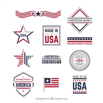Amerikaanse insignes