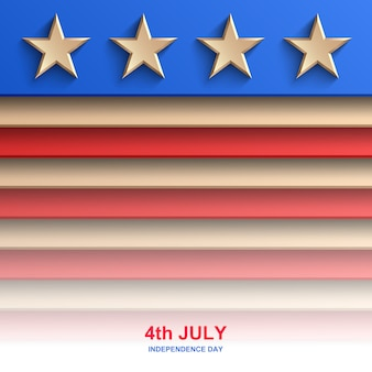 Amerikaanse onafhankelijkheidsdag achtergrond, amerikaanse vlag,