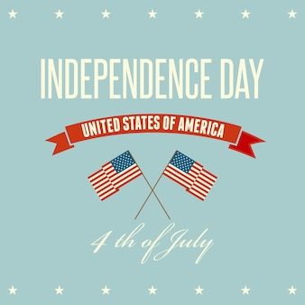 Amerikaanse onafhankelijkheidsdag patriottische achtergrond