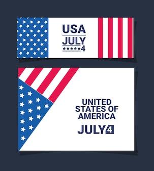 Amerikaanse onafhankelijkheidskaart