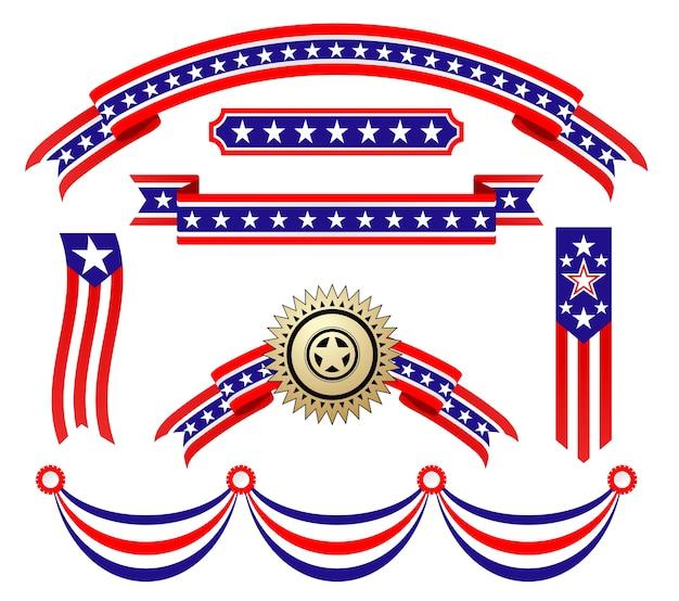 Amerikaanse patriottische linten