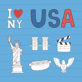 Amerikaanse stad