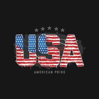 Amerikaanse trots de vlag van de vs