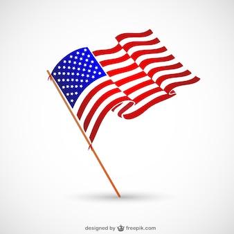 Amerikaanse vlag nationaal symbool