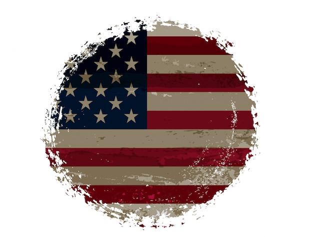 Amerikaanse vlag symbool