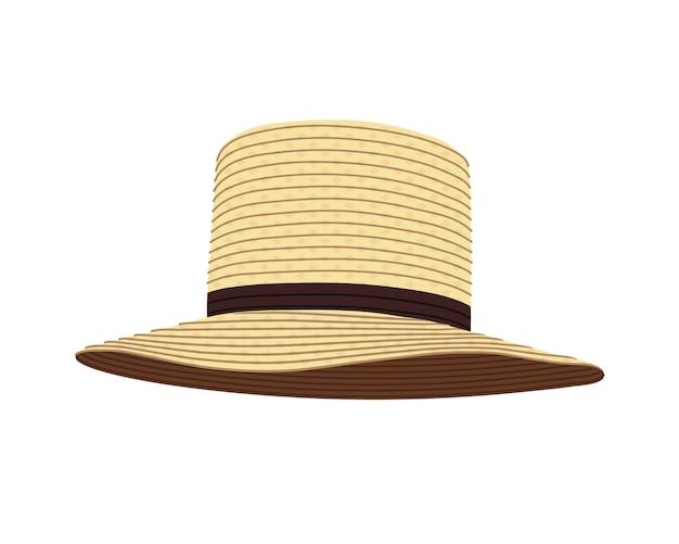 Amish stro hoed